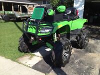 ** 2008 ARCTIC CAT 650 H1 TRV WITH 10 INCH GORILLA LIFT KIT **