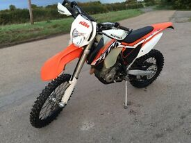 Ktm exc250 f injection 2014 low hours is mx not crf kxf rmz yzf