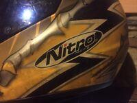 Motorbike helmet.