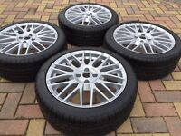 "17"" BMW Mini Cooper S Clubman Refurbished Alloy wheels & Brand New 205/45/17 Tyres"