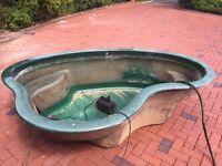 Pond Tub inc Pump
