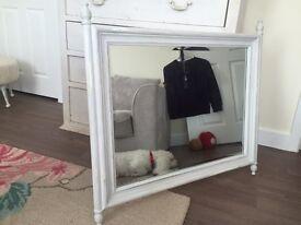 Shabby chic heavy duty mirror