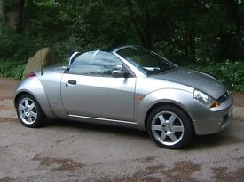 2005 FORD STREETKA 1.6 Luxury Convertible, Low Miles