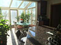 Beautiful Acreage House for Rent at 101st and Glenmore Trail SW