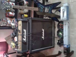 This is the deal...   washburn dimebolt 95 serie 1 and amp
