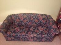 Blue sofabed in good condition LOCAL FREE DELIVERY