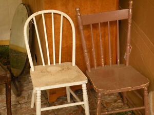 RUSTIC CHAIRS 10 PLUS AVAILABLE Peterborough Peterborough Area image 3