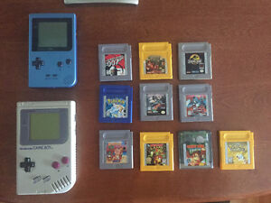 Two Gameboy + Games