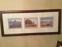 Henry Ripplinger Gallery 3 framed prints of rural Saskatchewan