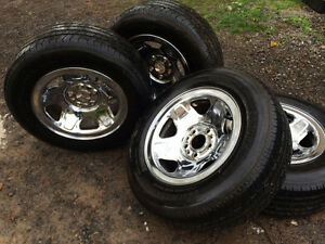 Tires and Rims Ford Ranger