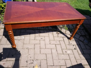 Nice Cherry wood coffee table solid wood today 70.00