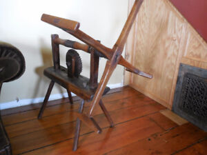 Primitive wool winder