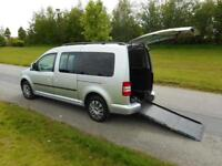 2012 Volkswagen Caddy Maxi Life Automatic 1.6 Tdi WHEELCHAIR ACCESSIBLE VEHICLE