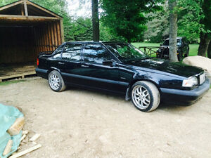 1994 Volvo 850 t5 black leather Hatchback