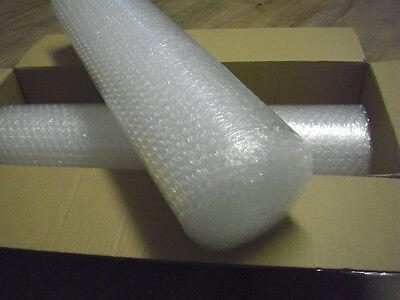 (0,72€/m²) 2 Rollen Luftpolsterfolie - Kleinrolle - jeweils 50 x 500 cm - 60 my