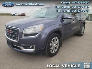 2014 GMC Acadia SLT-1  - Local - Trade-in - Non-smoker