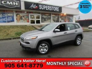 2016 Jeep Cherokee Sport  POWER GROUP CHROME PACKAGE