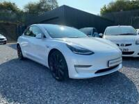 Tesla Model 3 Dual Motor Performance Auto 4WDE 4dr (Performance Upgrade) Saloon