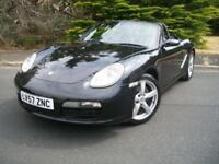 PORSCHE BOXSTER 2.7 24V 242 BHP 2008, BEAUTIFUL CAR, JUST 28,000 MILES FROM NEW