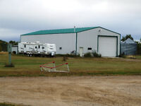142 Acres with Shop, RM of Big River