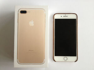 Apple iPhone 7 Plus - Gold - Unlocked - 256GB