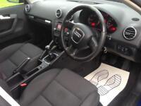 Audi A3 2.0TDI Sportback Sport- 2 Keys- FSH - New MOT- 140188 Miles