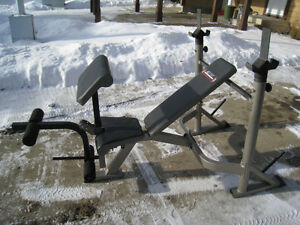BODY BREAK HEAVY-DUTY OLYMPIC INCLINE/DECLINE WEIGHT BENCH with