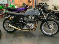 Triumph Bonneville t100, street scrambler, lovely, one off,
