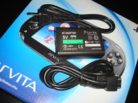 PS VITA-CHARGEUR COMPLET/COMPLETE CHARGER (NEUF/NEW SEALED)