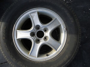 Hyundai Santa Fe Alloy Wheel