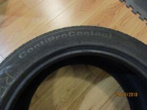 4 Pneus 4 saisons Continental ContiProContact, 300$