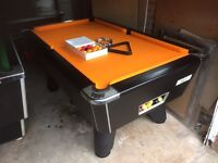 Supreme pool table. 6ft. New cloth