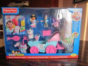 Fisher-Price Little People Carrose de Princesse