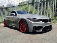"2014 14 Reg BMW M4 3.0 Coupe + STUNNING SPEC + BODY STYLING + 20"" VOSSEN ALLOYS"