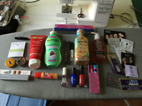 Lot of 20 make-up/beauty supplies