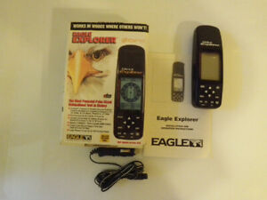 Eagle Explorer Handheld GPS by LEI Extras Inc 12 channel Receive