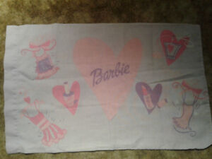 Barbie bed sheets set (Twin)