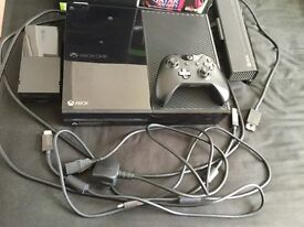 Xbox One Day One Edition 500GB With Kinect, Chat Headset and 2 Games