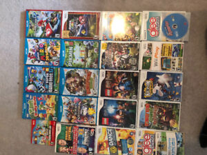 Nintendo Wii U with with 21 WiiU/Wii games  3 Wii controler.