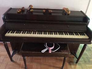 Small Piano to go today