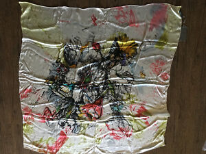 Luxury Womens Alexander McQueen Silk Scarf