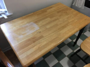 Dining table w/ 4 chairs $55