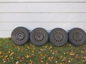 4 185-70R-14 winter tires and steel wheels Bridgewater