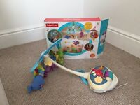Fisher price 2 in 1 cot mobile and floor toy
