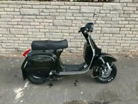 LML Lite 125 scooter small frame