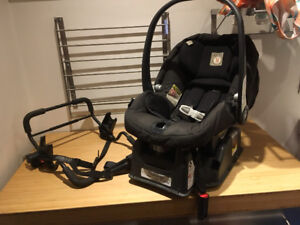 Coquille Peg Perego et adapteur Baby Jogger