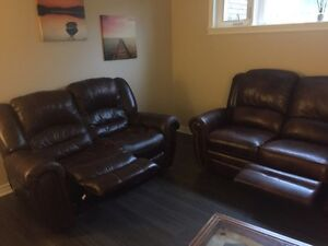 2 lazy boy sofa recliners London Ontario image 2
