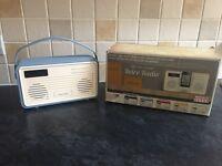 Brand new View Quest, DAB digital radio. Vintage style.