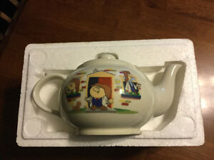 Vintage Tetley Tea Pot