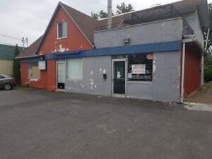 Commercial space to rent.  800sqf  .$1200+tax
